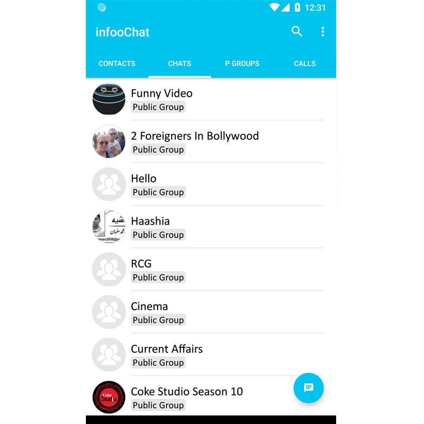 InfooChat - Crystal Clear Voice Call